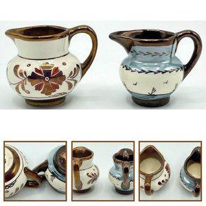Pavelco Ceramic Creamer Hand Paint Serving Pitcher